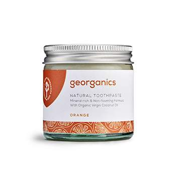 Dentifrice Georganics - Orange