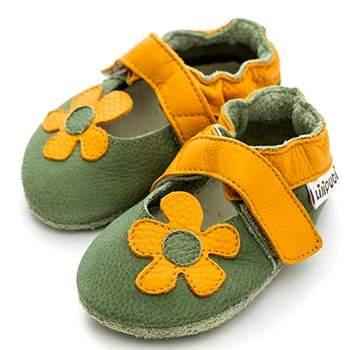 Sandales en cuir souple Liliputi Brazil