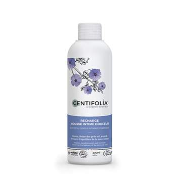 Recharge mousse intime douceur 200ml Centifolia