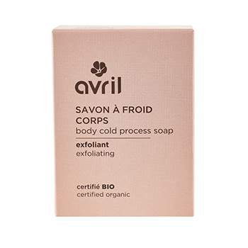 Savon à froid corps Exfoliant 100g Avril