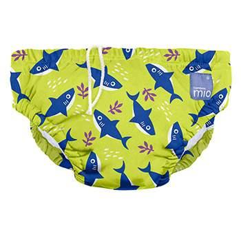 Maillot de bain bébé Bambino Mio Requin néon