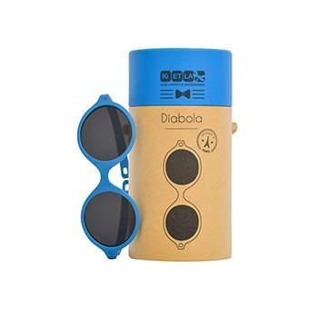 Lunettes de soleil Sun Baby 0-1 an KI ET LA - Bleu medium