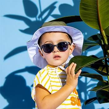 Lunettes de soleil Little Kids KI ET LA - Noir