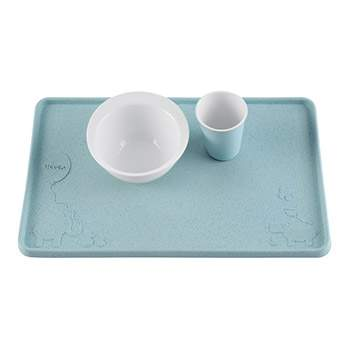 Set de table en caoutchouc naturel Hevea - Bleu