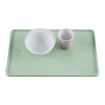 Set de table en caoutchouc naturel Hevea - Vert