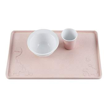 Set de table en caoutchouc naturel Hevea - Rose