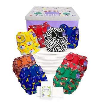 Pack complet couches lavables MuoDuo Bambino Mio - Safari