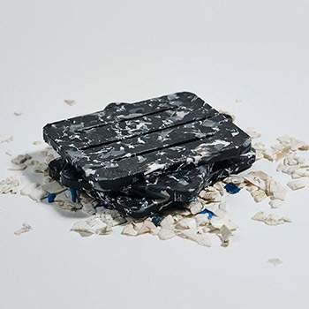 Porte-savon 100% recyclé Umaï - noir