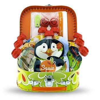 Coffret cadeau gourdes réutilisables Squiz collection Carnaval
