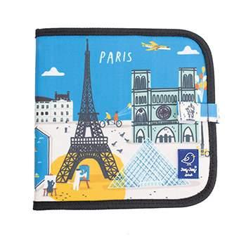 Cahier ardoise illustré Jaq Jaq Bird - Cities of wonder Paris