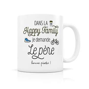 Mug Happy Family Créabisontine - Père