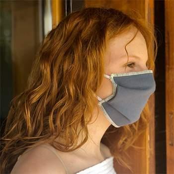 Lot de 3 masques réutilisables en coton bio ados/enfants