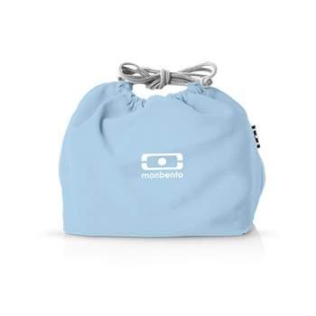 Le sac bento pochette Monbento - Bleu Crystal