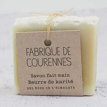 Savon surgras au Beurre de karité Fabrique de Courennes