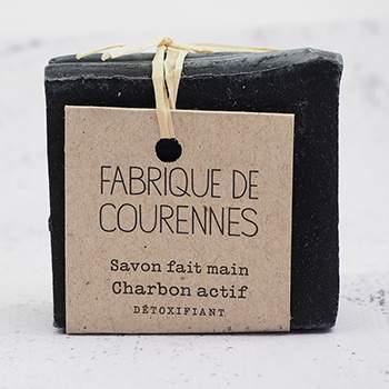 Savon surgras au Charbon actif Fabrique de Courennes
