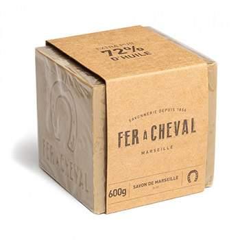 Savon de marseille cube olive 600g Savonnerie Fer à Cheval