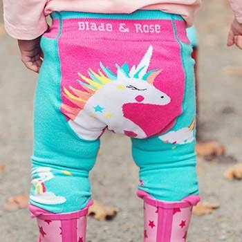 Leggings bébé Blade & Rose - Flying Unicorn