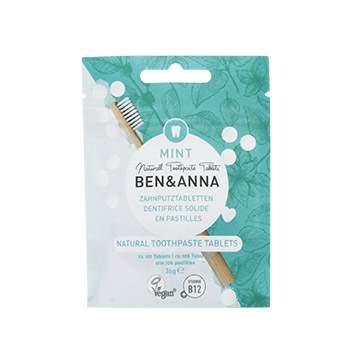 Dentifrice solide en pastilles Ben & Anna - sans fluor