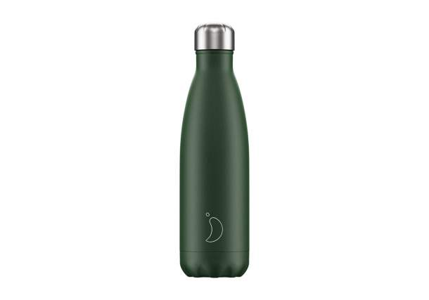 Bouteille isotherme Chilly's bottles - Mat Vert-500 ml