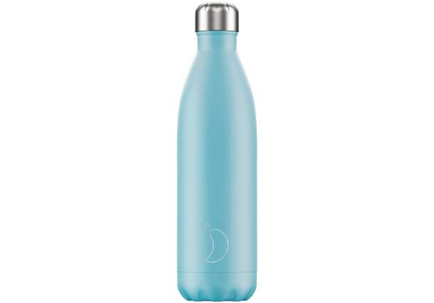 Bouteille isotherme Chilly's bottles - Pastel bleu-750ml