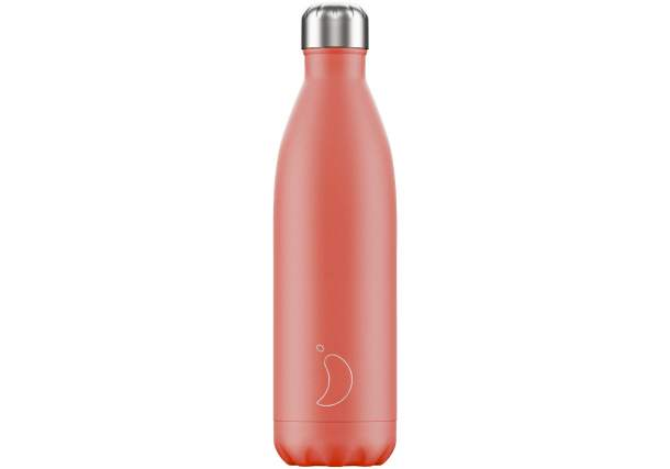 Bouteille isotherme Chilly's bottles - Pastel corail-750ml