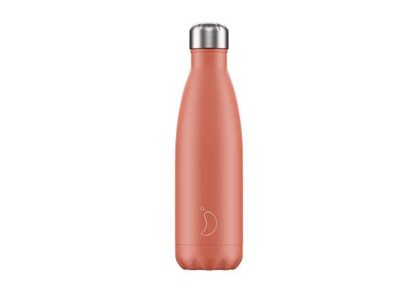 Bouteille isotherme Chilly's bottles - Pastel corail-500ml