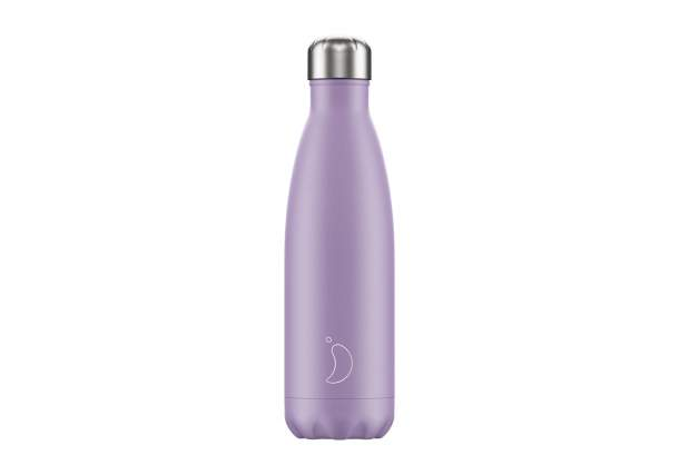 Bouteille isotherme Chilly's bottles - Pastel Violet-500ml