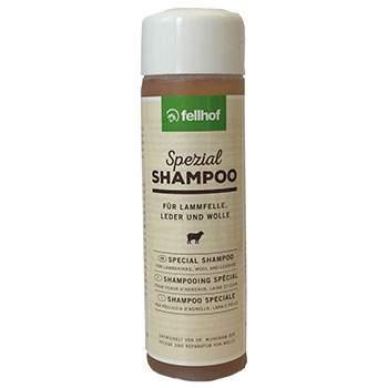 Shampoing spéciale peau d'agneau