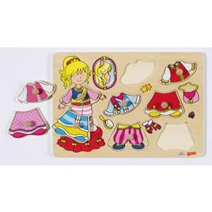 Puzzle à habiller petite princesse Goki