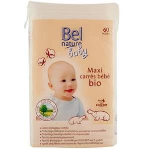 Maxi carrés bébé bio Bel Nature