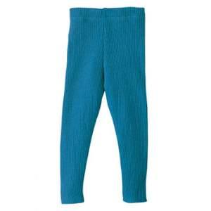 Leggins en laine mérinos disana Turquoise