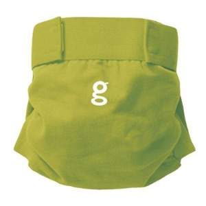 Culotte little gPants gDiapers Guppy green