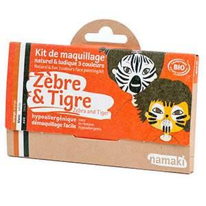 Kit 3 couleurs Zèbre & Tigre Namaki
