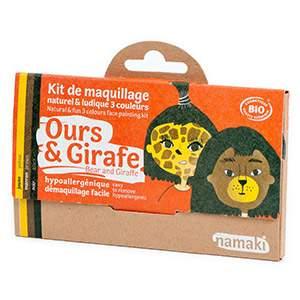Kit 3 couleurs Ours & Girafe Namaki