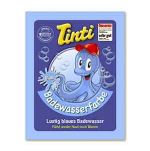 Sachet couleur pour le bain bleu Tinti
