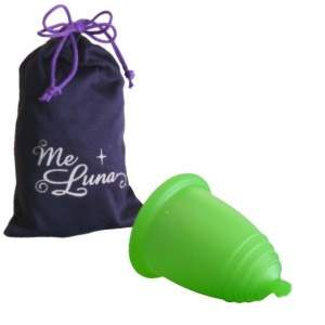 Coupe menstruelle Meluna boule - vert