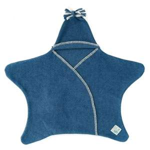 Couverture Star baby Tuppence and Crumble Denim