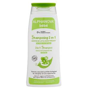 Shampooing bébé bio 2 en 1 Alphanova
