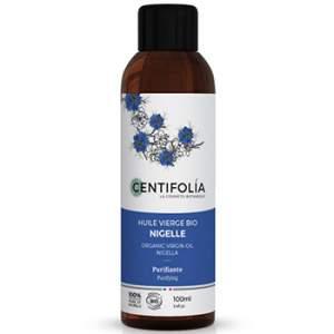 Huile végétale vierge bio de Nigelle Centifolia