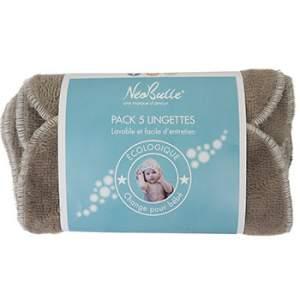 Pack de 5 lingettes lavables Néobulle