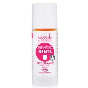 Premières Dents, huile calmante gingivale Néobulle