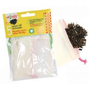 Sachets à thé en coton bio - Ah Table !