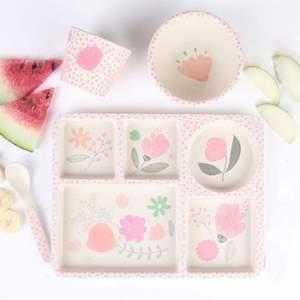 Coffret de vaisselle pour enfant Love Mae - Flower Garden