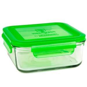 Boite de conservation en verre Wean Green 850 ml