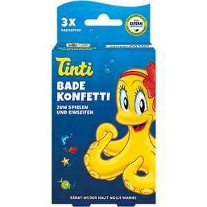 Lot de 3 sachets de Confettis pour le bain Tinti