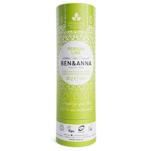 Déodorant stick Papertube Ben & Anna Persian Lime