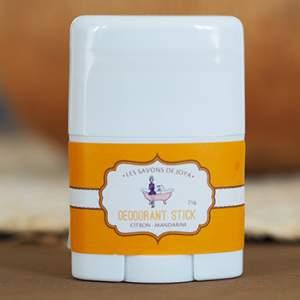 Déodorant stick Citron - Mandarine Les savons de Joya