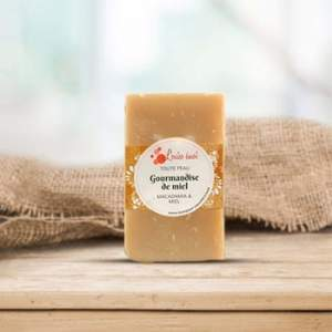 Savon à froid Louise Emoi - Gourmandise de miel