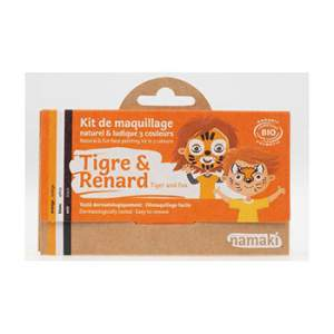 Kit 3 couleurs Tigre & Renard Namaki