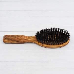 Brosse à cheveux en olivier Croll & Denecke - petit modèle